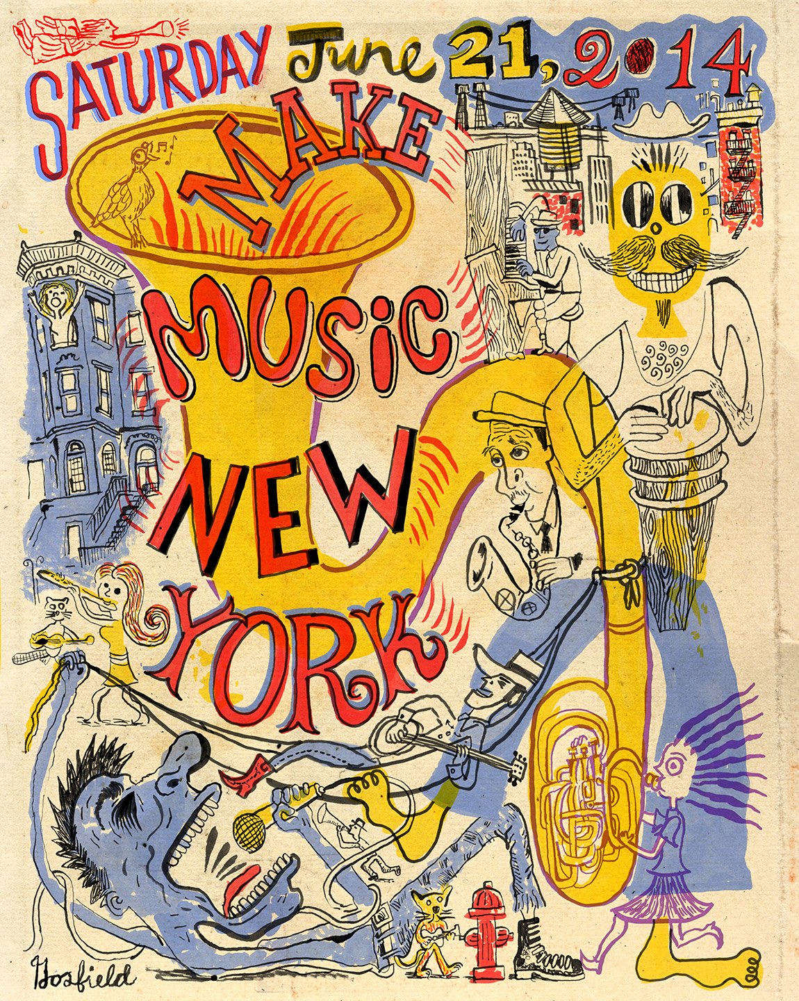 Poster design new york - Official Annual Posters