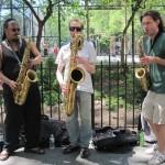 Ras Moshe, Jeremy Danneman, David Schnug, MMNY 2010 (Photo: Fallopia Tuba)
