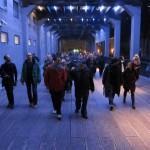 The Gaits: a High Line Soundwalk, Make Music Winter 2011 (Photo: Lainie Fefferman)